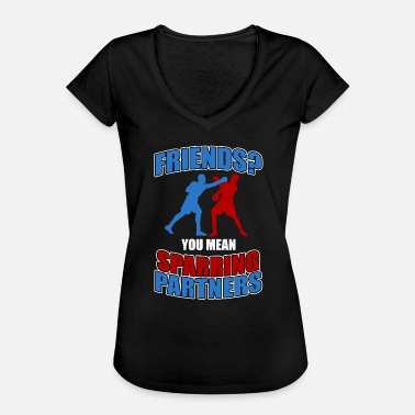 Sparring sparring - Women's Vintage T-Shirt
