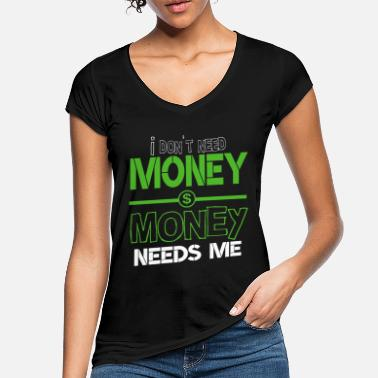 Dollar Sign Money dollar dollar sign - Women's Vintage T-Shirt