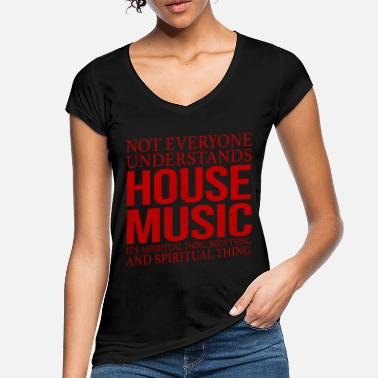 House House Music Music Nightclub Techno Club Party - Women's Vintage T-Shirt