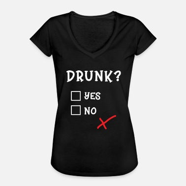 Group Drunk Party Drunk Yes or No Mallorca Party - Women's Vintage T-Shirt