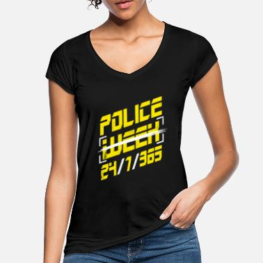 Kadett D Police Week 24/4/365 Leo Law Enforcement Polizist - Frauen Vintage T-Shirt
