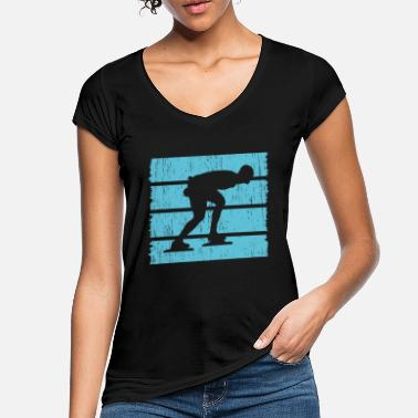 Top-seller Eisschnelllauf Top Seller - Frauen Vintage T-Shirt
