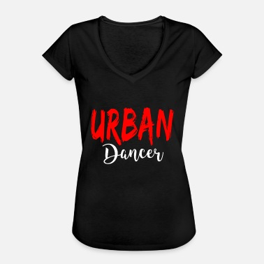 Urban Urban Dancer - Urban Dance Shirt - Vintage-T-skjorte for kvinner