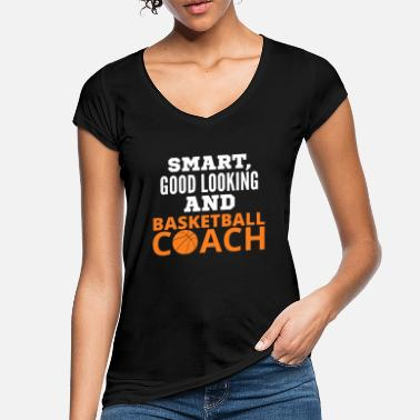 Coach Basketball Coach - Women's Vintage T-Shirt