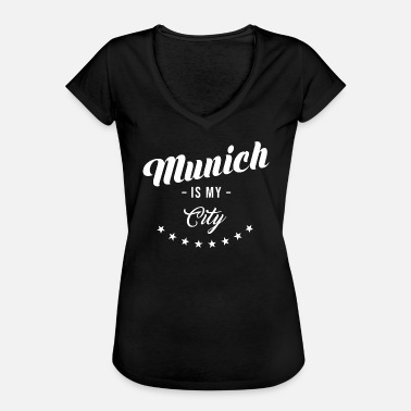 Munich Sayings Munich - Women's Vintage T-Shirt