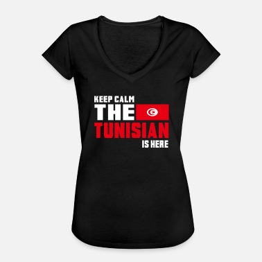 Sousse Keep calm Tunisia / Gift Flag North Africa - Women's Vintage T-Shirt