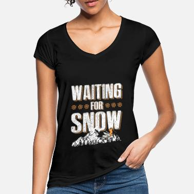 Ski Lift snow ski skiing - Women's Vintage T-Shirt