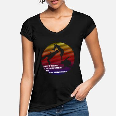 Backflip Parkour backflip - Vrouwen vintage T-Shirt