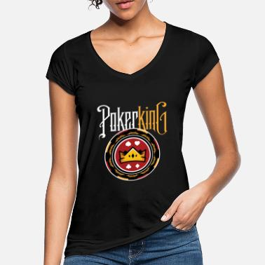 Chipleader Poker King Chipleader - Frauen Vintage T-Shirt