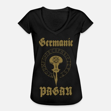 Pagan Metal PAGAN germanique - T-shirt vintage Femme