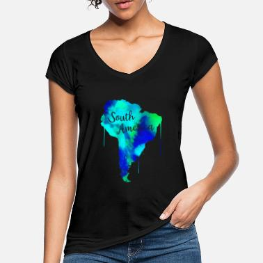 South America South America - Women's Vintage T-Shirt