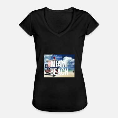 Miami MIAMI BEACH - Women's Vintage T-Shirt