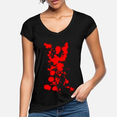 Bloodstain bloodstains - Women's Vintage T-Shirt