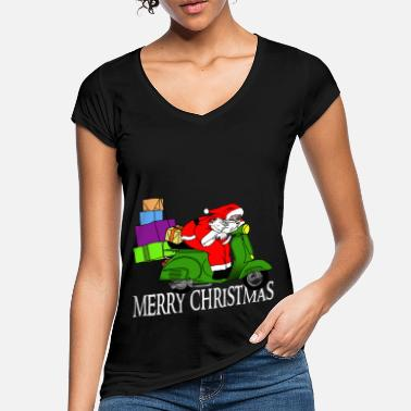 Hurry Santa Claus is in a hurry - Women's Vintage T-Shirt