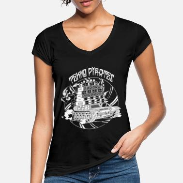 Rave Tekno Nomads Pirate Sound System - Women's Vintage T-Shirt