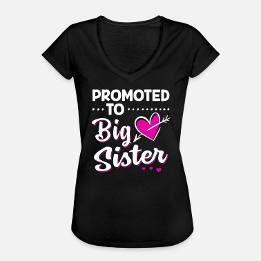 Promoted To Big Sister Promoted To Big Sister - Women's Vintage T-Shirt