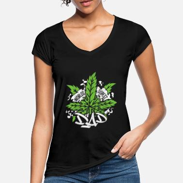 Stoned Cannabis Hanf THC 420 - Frauen Vintage T-Shirt