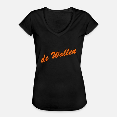 Gracht de wallen - Frauen Vintage T-Shirt