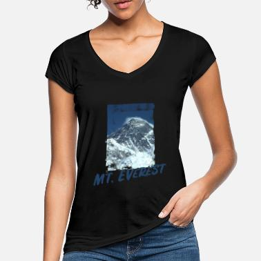 Berchtesgadener Land Mt. Everest, Hiking Design - Women's Vintage T-Shirt