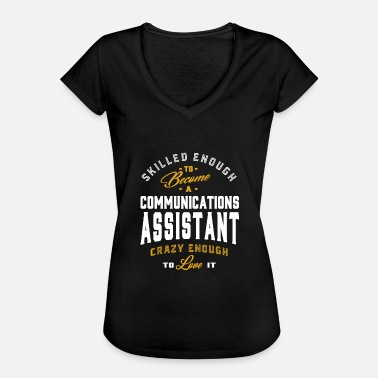 Assistent Communicatie-assistent - Vrouwen Vintage T-shirt