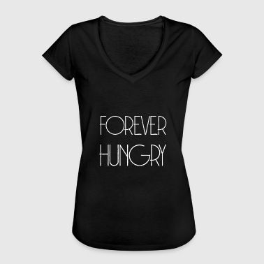 FOREVER HUNGRY - Wolverine lahjaidea - Naisten vintage t-paita