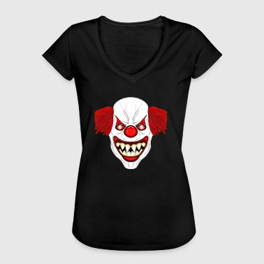 Clown Horror Clown - Vrouwen Vintage T-shirt