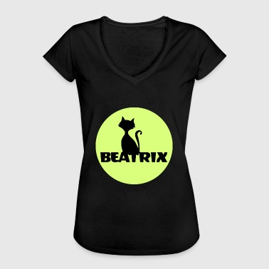 Beatrix, mein Name ist, Namensschild Namensshirt - Frauen Vintage T-Shirt