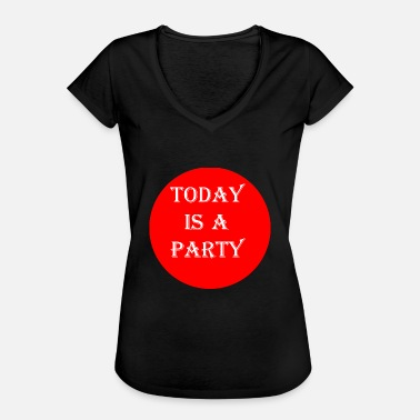Today today - T-shirt vintage Femme