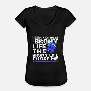 Bronies Shop The Brony Life Design - Women's Vintage T-Shirt
