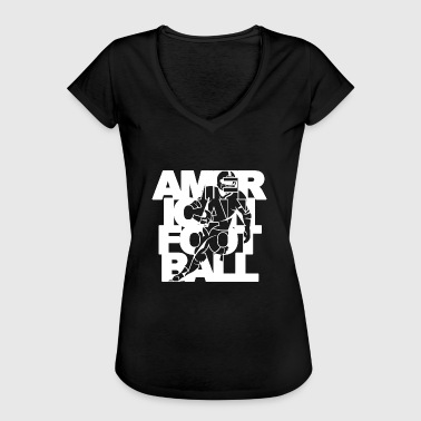 Football Player American Football Player Player - Women's Vintage T-Shirt