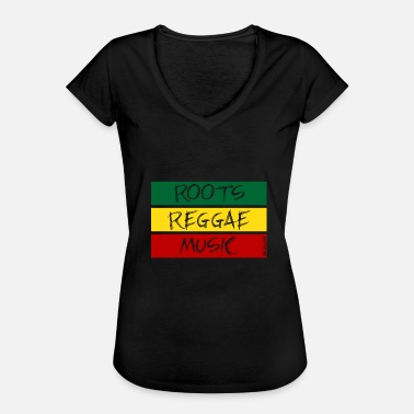 Roots ROOTS REGGAE MUSIC - T-shirt vintage Femme