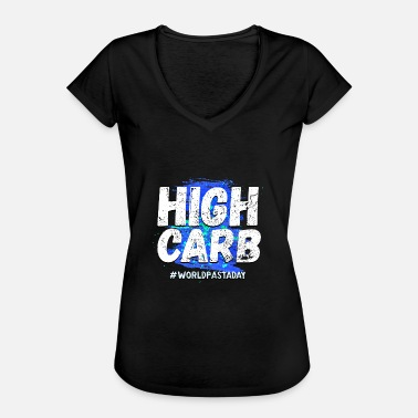 Antidiet High Carb Anti-Diet Shirt - World Pasta Day! - Vintage-T-shirt dam