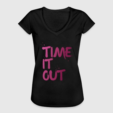 Time it out - T-shirt vintage Femme