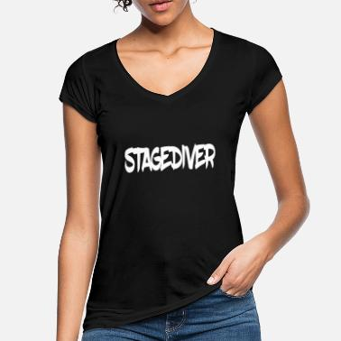 Stage Stage Diver - Women's Vintage T-Shirt