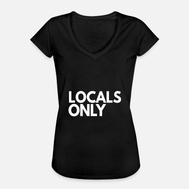 Local Locals seulement - T-shirt vintage Femme