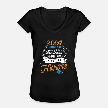 Are Sunshine Mixed With A Little Hurricane 2007 girls -Sunshine mixed with a little Hurricane - Women's Vintage T-Shirt