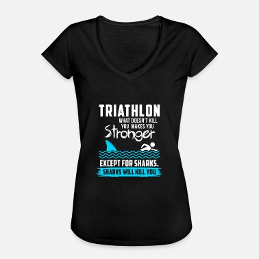 Spore Triathlon T-shirt · · · triathlète triathlète Spor - T-shirt vintage Femme