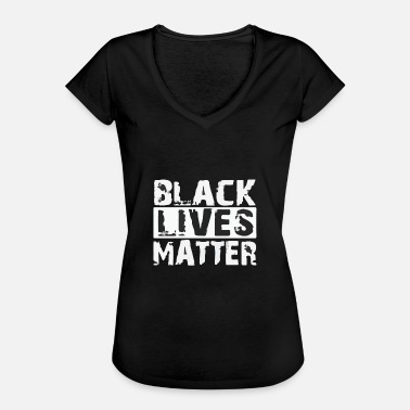 Blackpower Migration Politik Statement - Frauen Vintage T-Shirt
