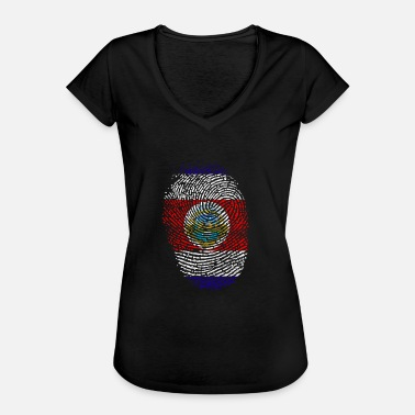 Costa Rica Costa Rica - Dame vintage T-shirt