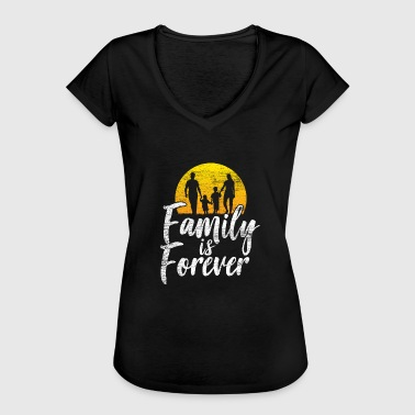 Always Forever Family will always be there forever vintage - Women's Vintage T-Shirt