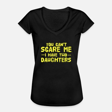 Sisters Dad kids family daughter kids Father's Day Dad Dad - Women's Vintage T-Shirt
