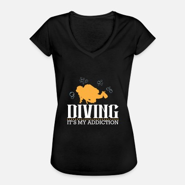 Diving Board Diving addiction - Women's Vintage T-Shirt