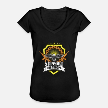 Support Our Troops Support our troops - Women's Vintage T-Shirt