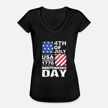Independence Day Independence day - Frauen Vintage T-Shirt