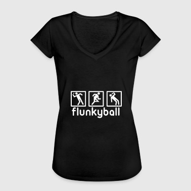 Drinking Game Flunkyball drinking game party - Women's Vintage T-Shirt