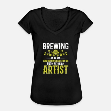 Stout Cool Hobby Brewer Brewmaster Gift IPA Stout - T-shirt vintage Femme