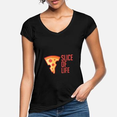 One Piece One Piece of Life - Pizza Piece - Foodie Lover - Women's Vintage T-Shirt