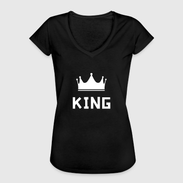 Crusader Kings king - Women's Vintage T-Shirt