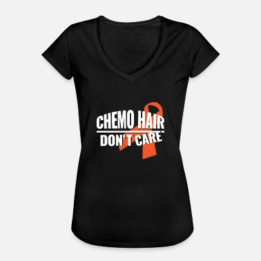 Leukemia Awareness Anti Cancer Leukemia Loop Families Fun Gift - Women's Vintage T-Shirt