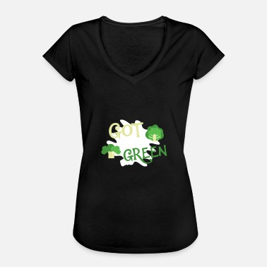 Greendale Got Green Nature Green Veggie Lifestyle - Maglietta vintage donna